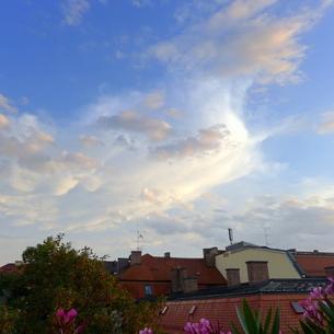ミュンヘンの空の写真素材 [FYI00280778]