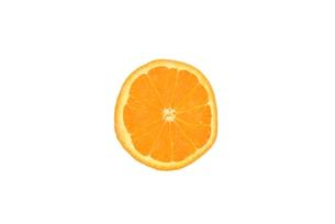 ミネオラオレンジの断面の写真素材 [FYI00280906]