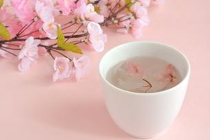 桜茶の写真素材 [FYI00280910]