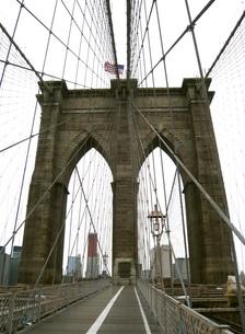 ブルックリン橋の写真素材 [FYI00280932]