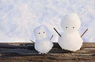 雪ダルマの素材 [FYI00281168]