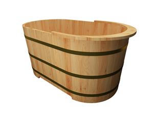 檜風呂の写真素材 [FYI00281387]