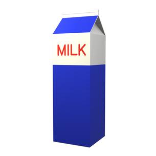 牛乳パックの写真素材 [FYI00281441]
