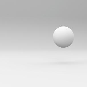 球体のある部屋の写真素材 [FYI00281465]