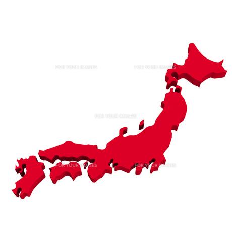 日本地図の写真素材 [FYI00281466]