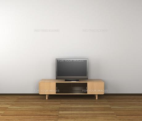 テレビのある部屋の写真素材 [FYI00281467]
