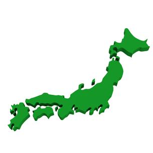 日本地図の写真素材 [FYI00281469]