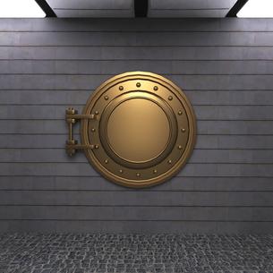 扉のある部屋の写真素材 [FYI00281473]