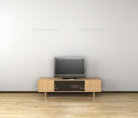 テレビのある部屋の写真素材 [FYI00281482]