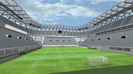 サッカースタジアムの写真素材 [FYI00281485]