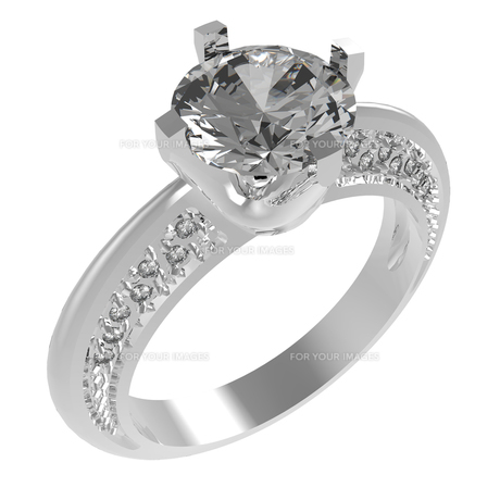 指輪の写真素材 [FYI00281552]