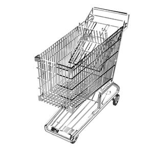 ショッピングカートの写真素材 [FYI00281564]