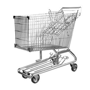 ショッピングカートの写真素材 [FYI00281575]