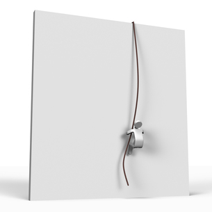 ロープで壁を登る人の写真素材 [FYI00281630]