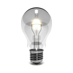 灯りのついた電球の写真素材 [FYI00281686]