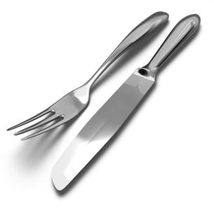 フォークとナイフの写真素材 [FYI00281708]