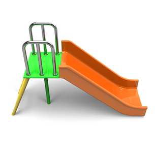 滑り台 上面図の写真素材 [FYI00281818]