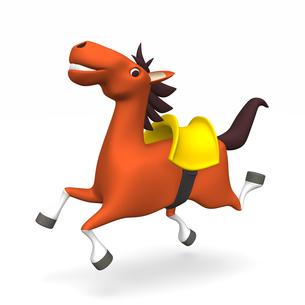 陽気な馬の写真素材 [FYI00281899]