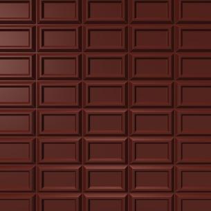 板チョコ 背景素材用の写真素材 [FYI00281926]