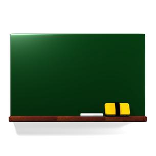 黒板と黒板消しの写真素材 [FYI00281964]