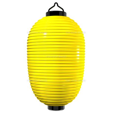 黄色い提灯の写真素材 [FYI00281969]