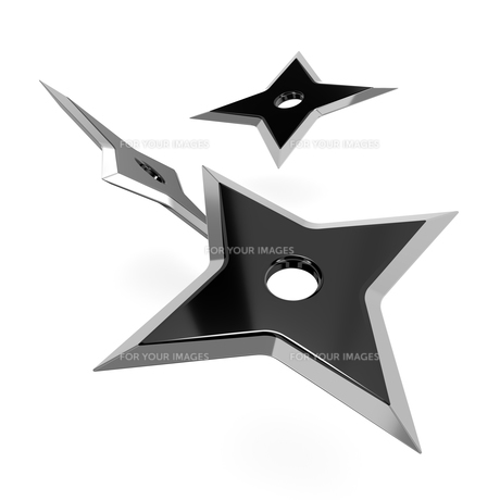手裏剣の写真素材 [FYI00282015]