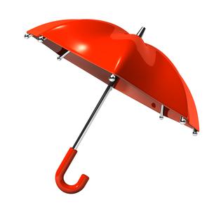赤い傘の写真素材 [FYI00282022]