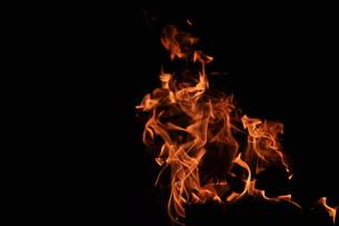 燃えるの写真素材 [FYI00282211]
