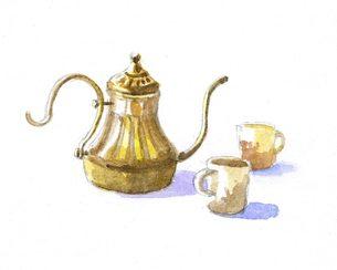 tea timeの写真素材 [FYI00282245]