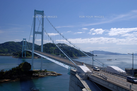 呉市・安芸灘大橋の写真素材 [FYI00282310]