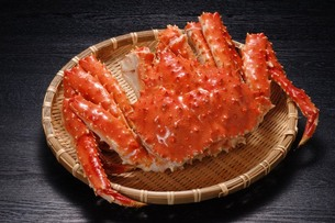 北海道オホーツク産・タラバガニの写真素材 [FYI00282429]