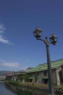 小樽運河の写真素材 [FYI00282506]