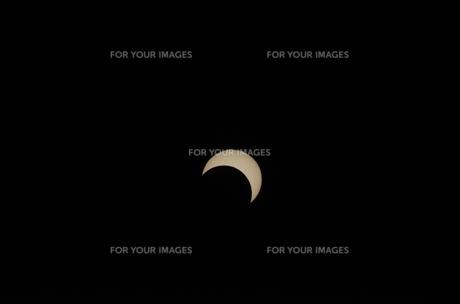 北海道での日食の写真素材 [FYI00282510]