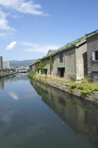 小樽運河の写真素材 [FYI00282515]