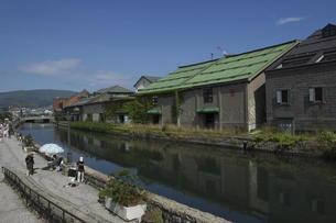 小樽運河の写真素材 [FYI00282518]