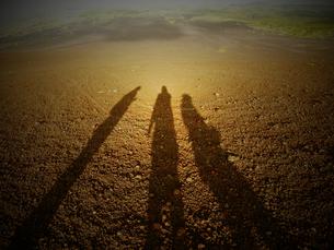 砂漠と影の写真素材 [FYI00282588]