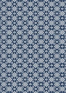 有職文様 - 藍染めの写真素材 [FYI00282651]