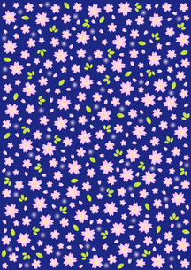 桜の背景模様の写真素材 [FYI00282665]