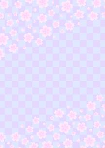 桜の和柄の写真素材 [FYI00282731]