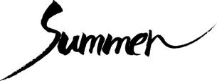 summer 文字素材の写真素材 [FYI00283126]