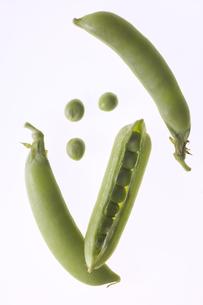 えんどう豆の写真素材 [FYI00283201]