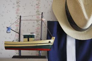 漁船模型の写真素材 [FYI00283218]