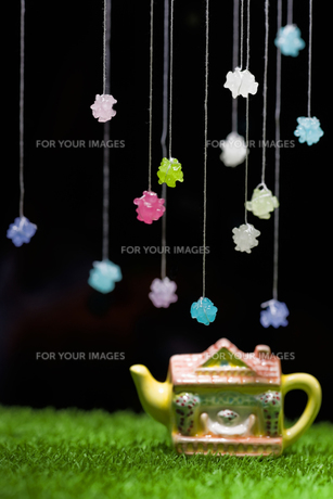midnight tea partyの写真素材 [FYI00283224]