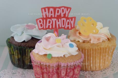 happy birthdayの写真素材 [FYI00283281]