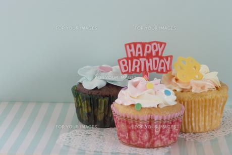 happy birthdayの写真素材 [FYI00283286]