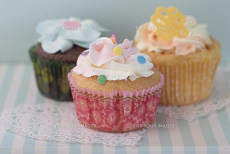 カップケーキの写真素材 [FYI00283287]