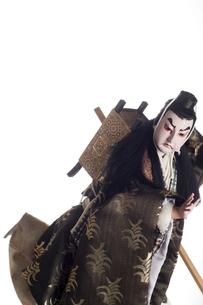 日本人形(弁慶勧進帳)の写真素材 [FYI00283298]
