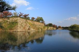 姫路城の写真素材 [FYI00283536]