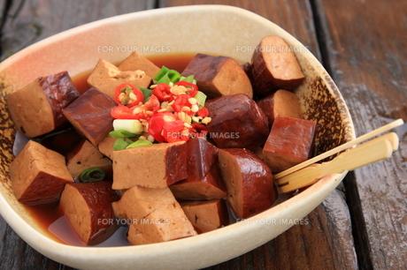 台湾料理 豆干の写真素材 [FYI00283632]