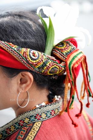 台湾原住民の衣装の写真素材 [FYI00283657]